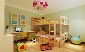 复式别墅室内儿童房装修效果图