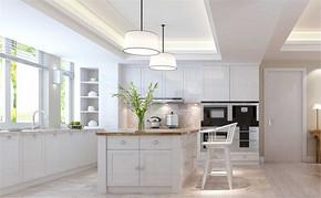 四室一厅房屋现代厨房装修图