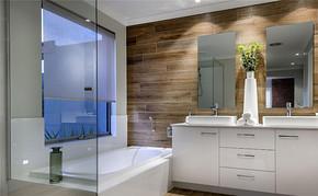 现代四室一厅房型设计装修效果图