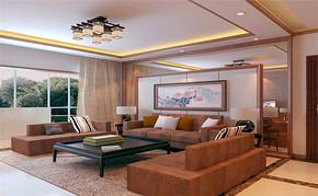 中式三室一厅一卫装修效果图