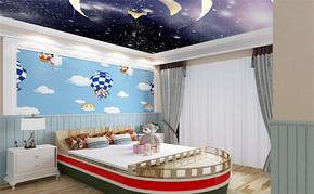 三室一厅一卫儿童房装修设计图