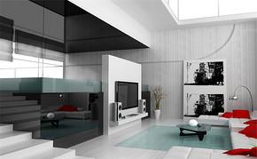 简约风格室内房屋装修效果图