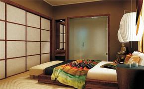 三室一厅一卫日式卧室装修效果图