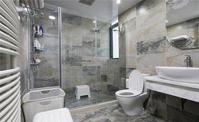 室内房屋卫生间背景墙装修效果图