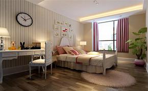 现代四室一厅房屋卧房装修图