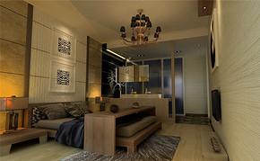 日式三室一厅一卫装修设计图