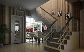 四室一厅房屋客厅吊顶装修图
