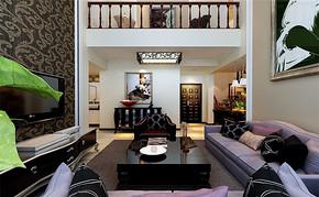 简约四室一厅房型设计效果图