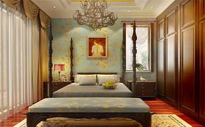 欧式四室一厅房屋装修图