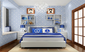 室内儿童房间设计效果图