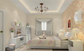 田园风格室内房间设计效果图