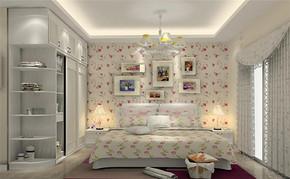 四室一厅韩式风格家装效果图