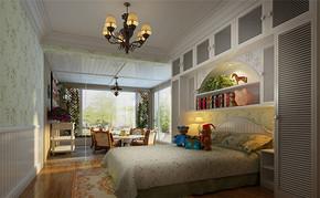 田园四室一厅房型设计图片