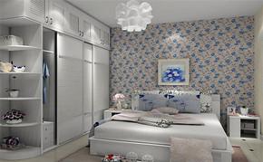韩式四室一厅房屋卧室装修图