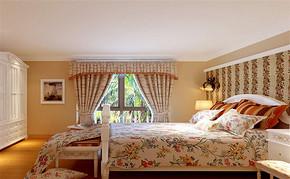 田园风格四室一厅家装效果图