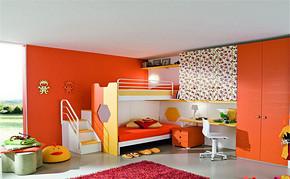 现代三室一厅一卫儿童房间装修效果图