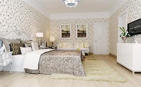四室一厅房型田园风格设计图片