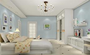 韩式风格室内房间设计效果图