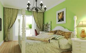 三室一厅一卫田园卧室装修效果图
