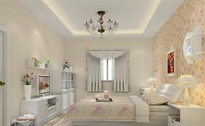 四室一厅房屋韩式风格装修图