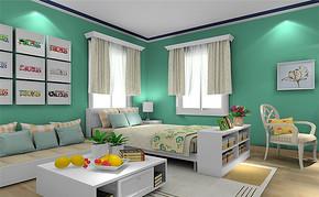 韩式风格四室一厅家装效果图