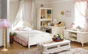 韩式风格四室一厅房型设计效果图