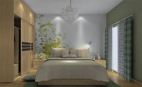 田园风格女生卧室装修设计效果图欣赏