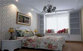 2016年田园室内卧室装修效果图