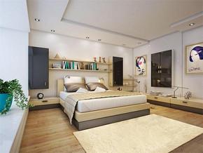 现代一居室10平方卧室装修