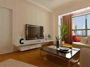 一居室客厅简易吊顶效果图