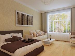 一居室客厅卧室无吊顶装修效果图