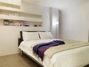 一居室卧室简约风格装修图片