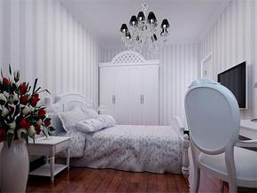 女生房间卧室简约风格布置效果图