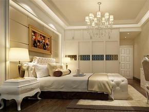 欧式13平米女生卧室装修效果图