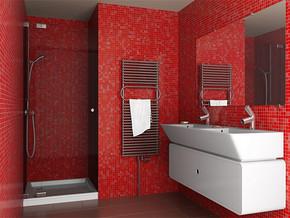 现代日式卫生间装饰效果图