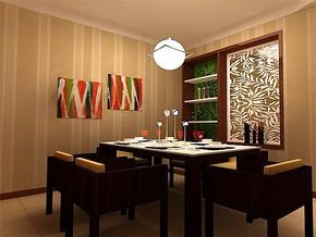 温馨日式家居装修高清效果图