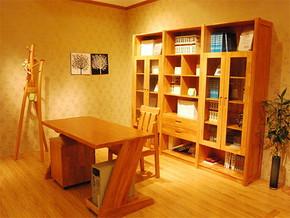 日式温馨书房客房装修图