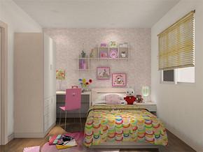 温馨日式10平方米儿童房装修效果图