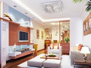 日式普通家庭室内装修效果图