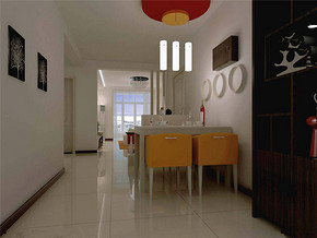 个性一室现代餐厅经典装修案例
