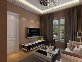 舒适一室简欧客厅装修设计风格