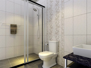 日式小卫生间简单装修图