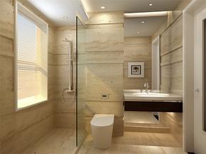 日式现代家庭小型卫生间装修效果图