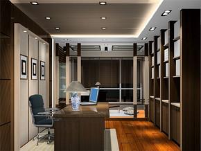 现代日式新房书房装修图片