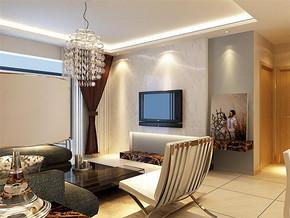 日式普通客厅装修效果图