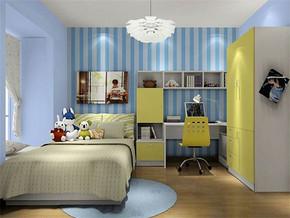 地中海日式儿童小卧室装修效果图