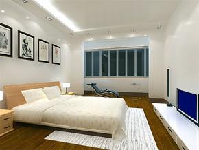 简约日式新房卧室装修效果图