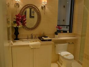 欧式温馨小卫生间简单装修图