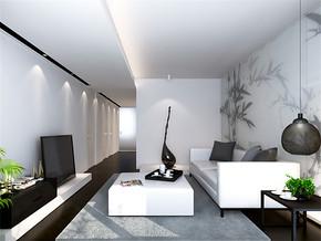 日式室内客厅装修设计效果图