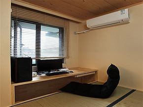 日式别墅书房设计效果图
